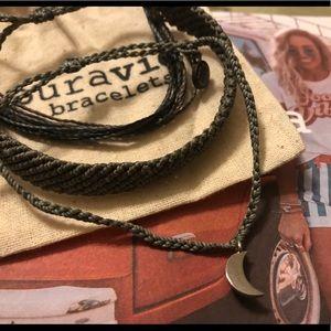 PURA VIDA NWOT BRAIDED & CRESCENT CHARM Bracelets
